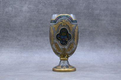 Dans le goût de Théodore Legras. Vase en...