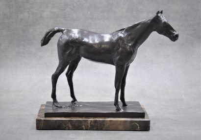D'après Edgar DEGAS (1834-1917), Bronze.