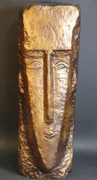 d'après Amadeo MODIGLIANI (1884-1920), Bronze.