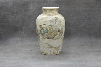 ASIE. Vase en céramique