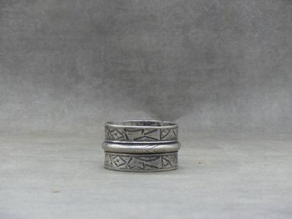 Un bracelet en argent berbère, début du XXe...