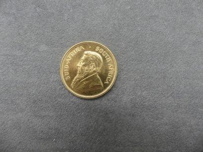1 krugerrand 1983 en or. Poids: 34.04gra...