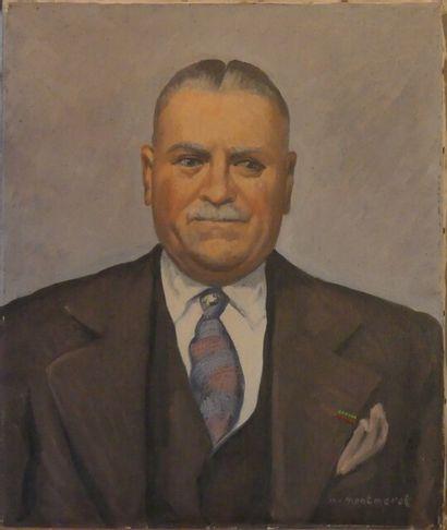 Albert MONTMEROT (1902-1942), Portrait d'homme