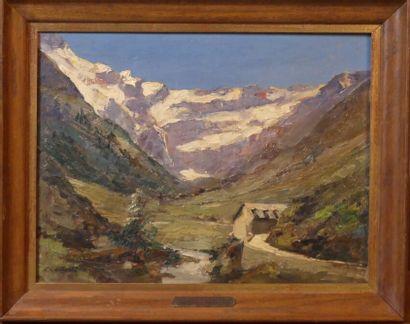 Clément CASTELLI (1870-1959), Paysage de montagne