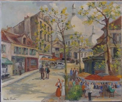 Charles BLONDIN, Montmartre