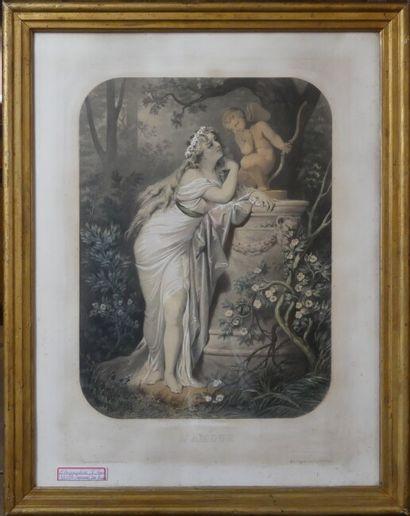 D'après Jules Marie DESANDRE, Regnier et Bettanier, L'amour