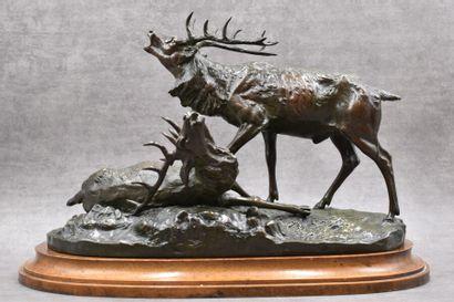 Albert Pierre LAPLANCHE (1854-1935), Bronze.