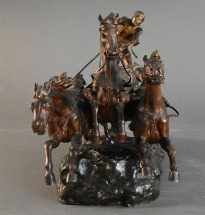 Georges Lucien VACOSSIN (1870-1942), Bronze.