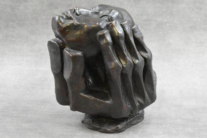 Etienne MARTIN  (1913 -1995), Bronze.