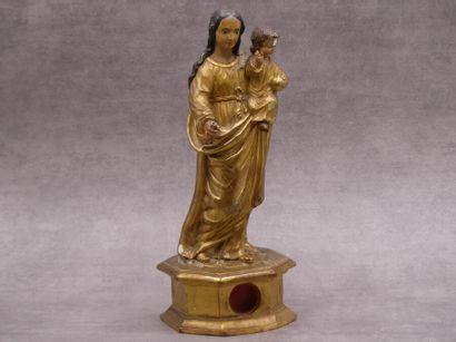 Vierge à l'Enfant XVIIIe siècle.