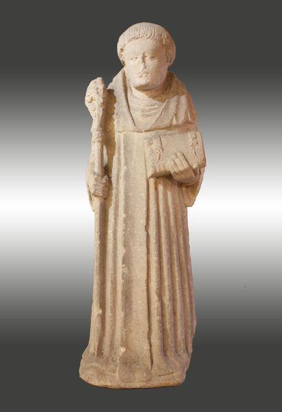 Sculpture de Saint Bernard de Clairvaux