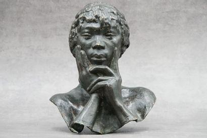 Herbert WARD (1863-1919), Bronze.