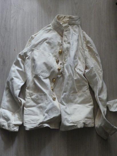 Veste blanche. Premiére guerre mondiale.