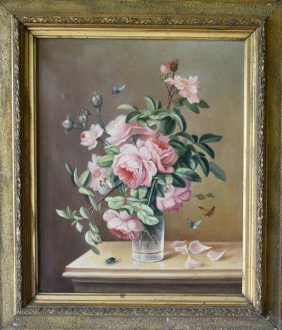 Pivoine dans un vase