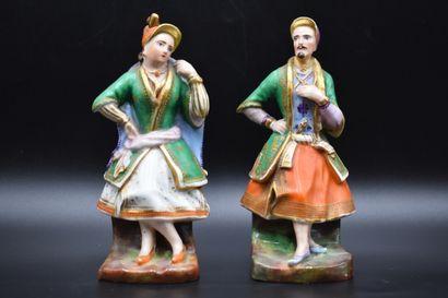 Couple de figurines en porcelaine