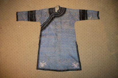 Robe informelle, Chine, dynastie Qing, XVIIIème...