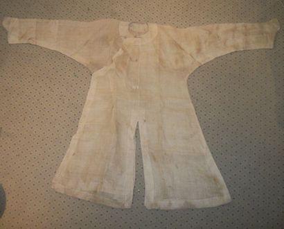 Robe d'été, Chine, dynastie Qing, à manches...