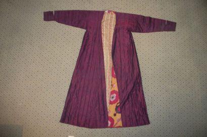 Manteau de chef de tribu, Ouzbékistan, taffetas...