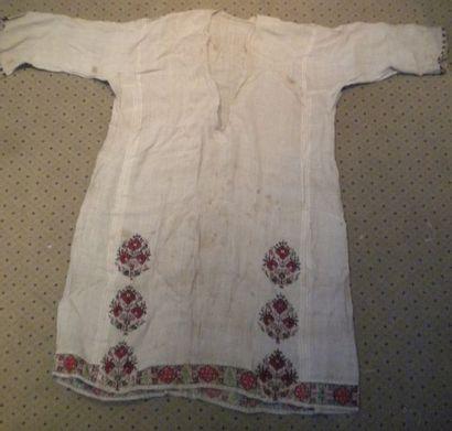 Robe de bédouin, Syrie, XIXème siècle, lin...