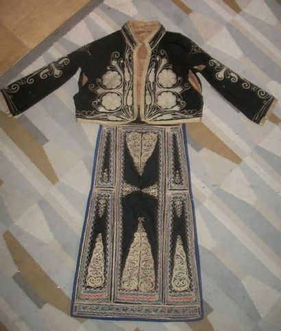 Élément de vêtement et gilet, Empire Ottoman,...