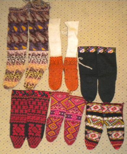 Six paires de chaussettes, Europe Balkanique,...