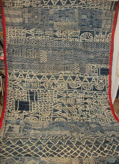 Manteau de la maison du roi Bamileke, Cameroun,...