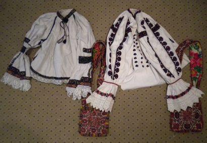 Deux chemises et deux sacs, Mara Muresh,...