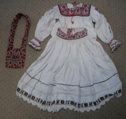 Jupe, chemise et sac, Roumanie, Mara Muresh,...