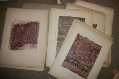 Réunion de trois portfolios : La Collection...