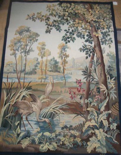 Tapisserie, laine et soie, Aubusson, manufacture...