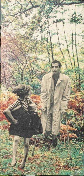 GEORGES HUGNET (1904-1974)  La poursuite...