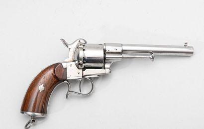 Revolver Lefaucheux modèle 1858 civil.  Marqué...