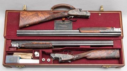 Superbe paire de fusils de chasse LEBEAU-COURALLY....