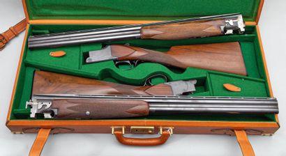 Paire de fusil de chasse BROWNING. Modele...