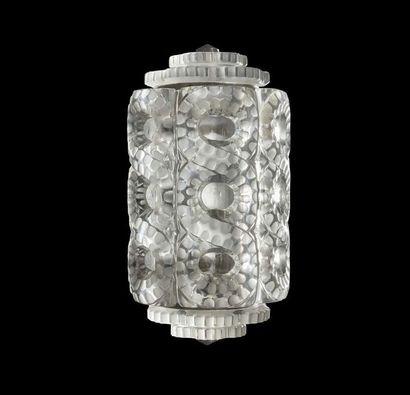 Lalique, sur un modèle de Marc Lalique  Deux...