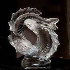 Lalique France  SUJET en cristal représentant...