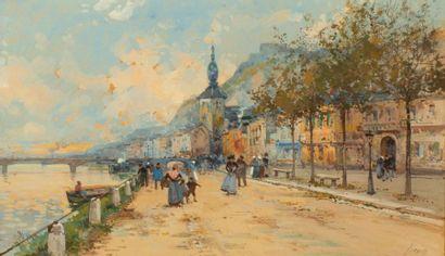 EUGÈNE GALIEN-LALOUE (1854-1941)  Vue de...