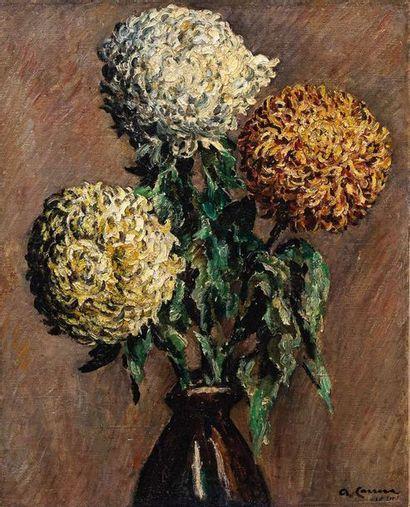 AUGUSTIN CARRERA (1878-1951)  Bouquet de...
