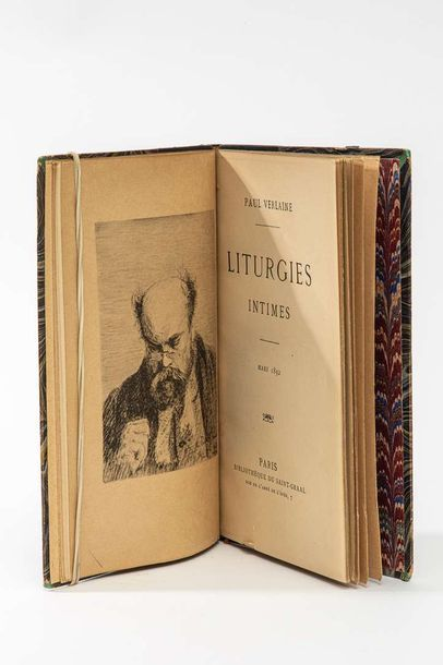 Paul VERLAINE, Liturgies intimes, Paris,...
