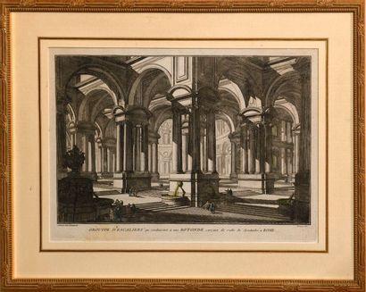 D'après Giovanni Battista PIRANESE (1720-1778)...