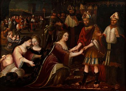 Attribué à HIDALGO José Garcia (Villena 1645...