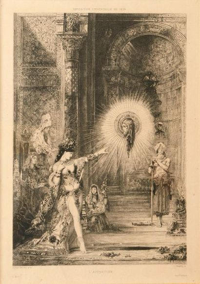 D'après Gustave MOREAU (1826-1898)