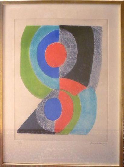 D'après Sonia DELAUNAY-TERK (1885-1979)