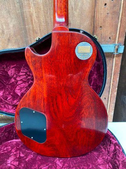 Guitare électrique solidbody de marque Gibson Custom, modèle Les Paul Ace Frehley...