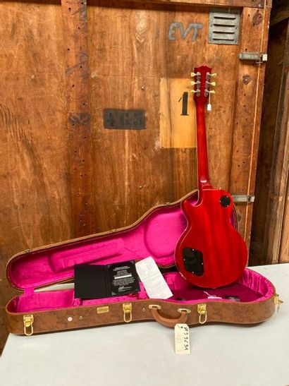 Guitare électrique solidbody de marque Gibson Custom, modèle Les Paul LPR 59, 50th...