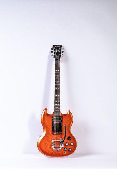 Guitare électrique solidbody de marque Gibson...