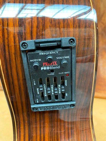 Antonio Lorca's nylon strings guitar electro acoustic pan coupe model 1015  Made...