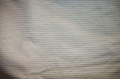 Paire de rideaux en reps ivoire, doublé,...