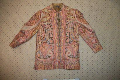 Veste griffée PAULINE, façonné de laine,...