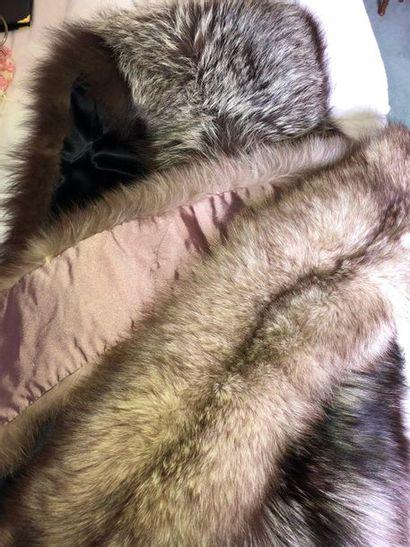Deux étoles, l'une en vison, l'autre en marmotte?...